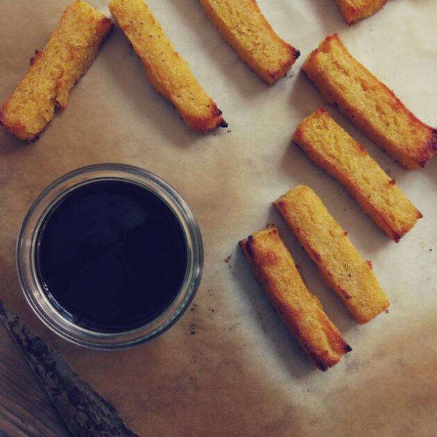 frites sucrées de polenta