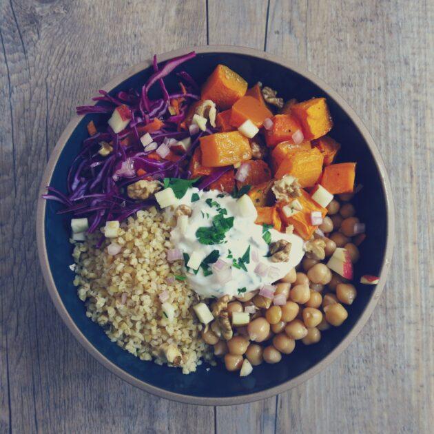veggie bowl made in grenoble