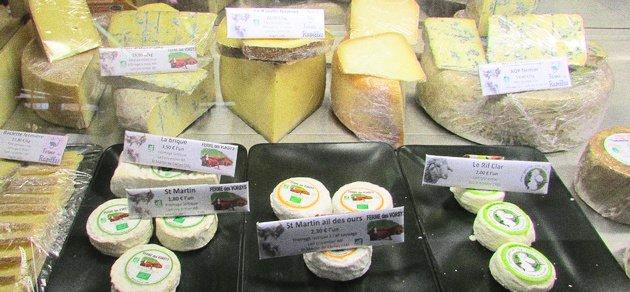 Fromages Grenoble Terroir