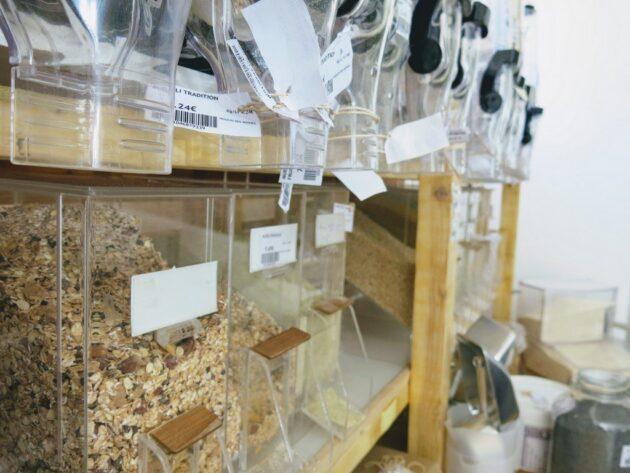 La vente en vrac chez l'éléfàn à Grenoble