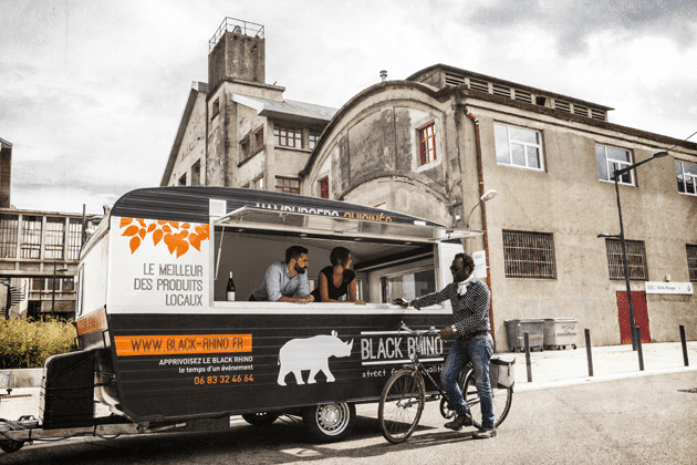 food truck grenoble black rhino