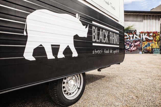 food truck grenoble black rhino