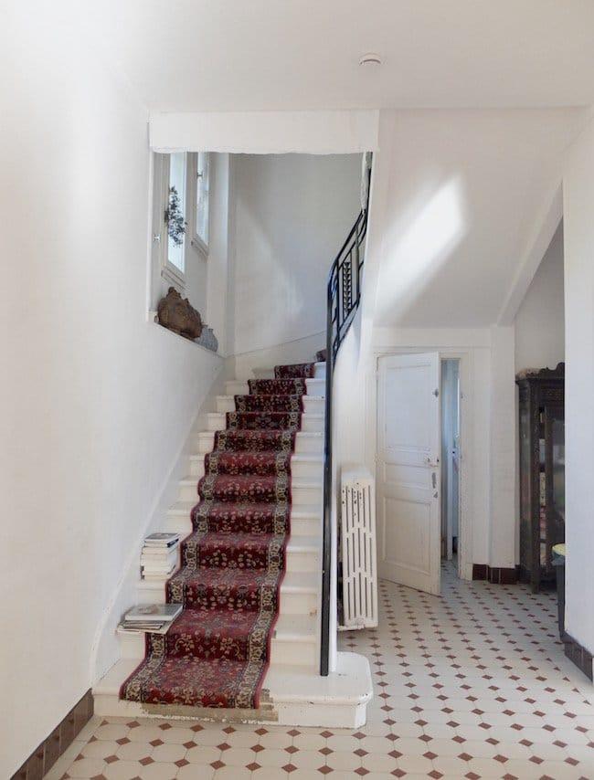 escalier-tapis