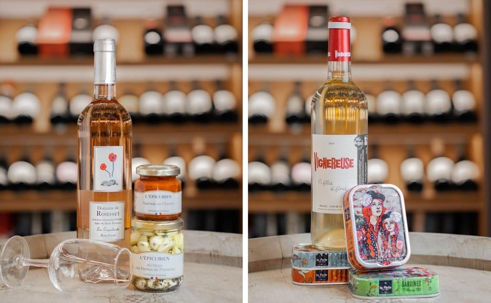 """Selection de vins : """"Vigneureuse"""" et """"Les coquelicots"""""""