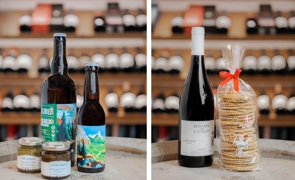"""Selection : Bière """"Galibier"""" & """"Domaine des Closiers"""""""