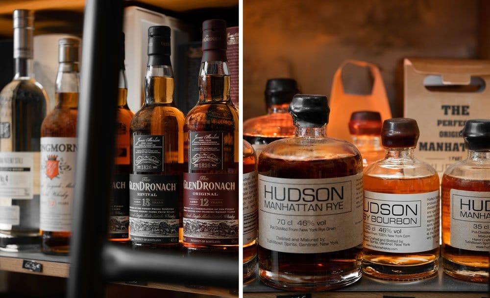 Des whiskys, par l'Echanson