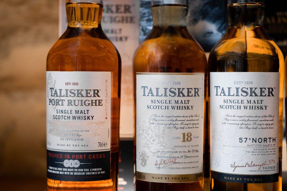 Wisky Talisker, par l'Echanson