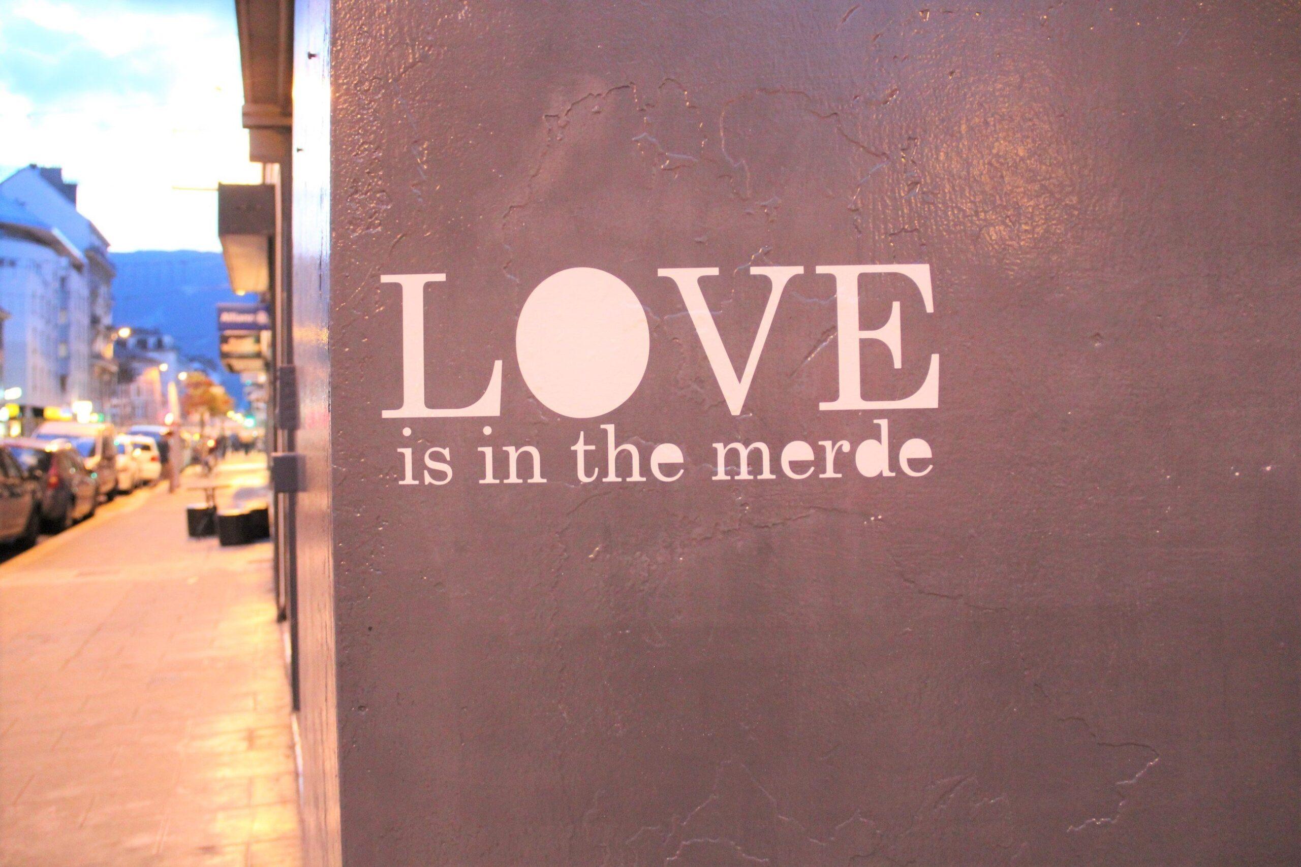 petite poissone - love is in the merde GRENOBLE