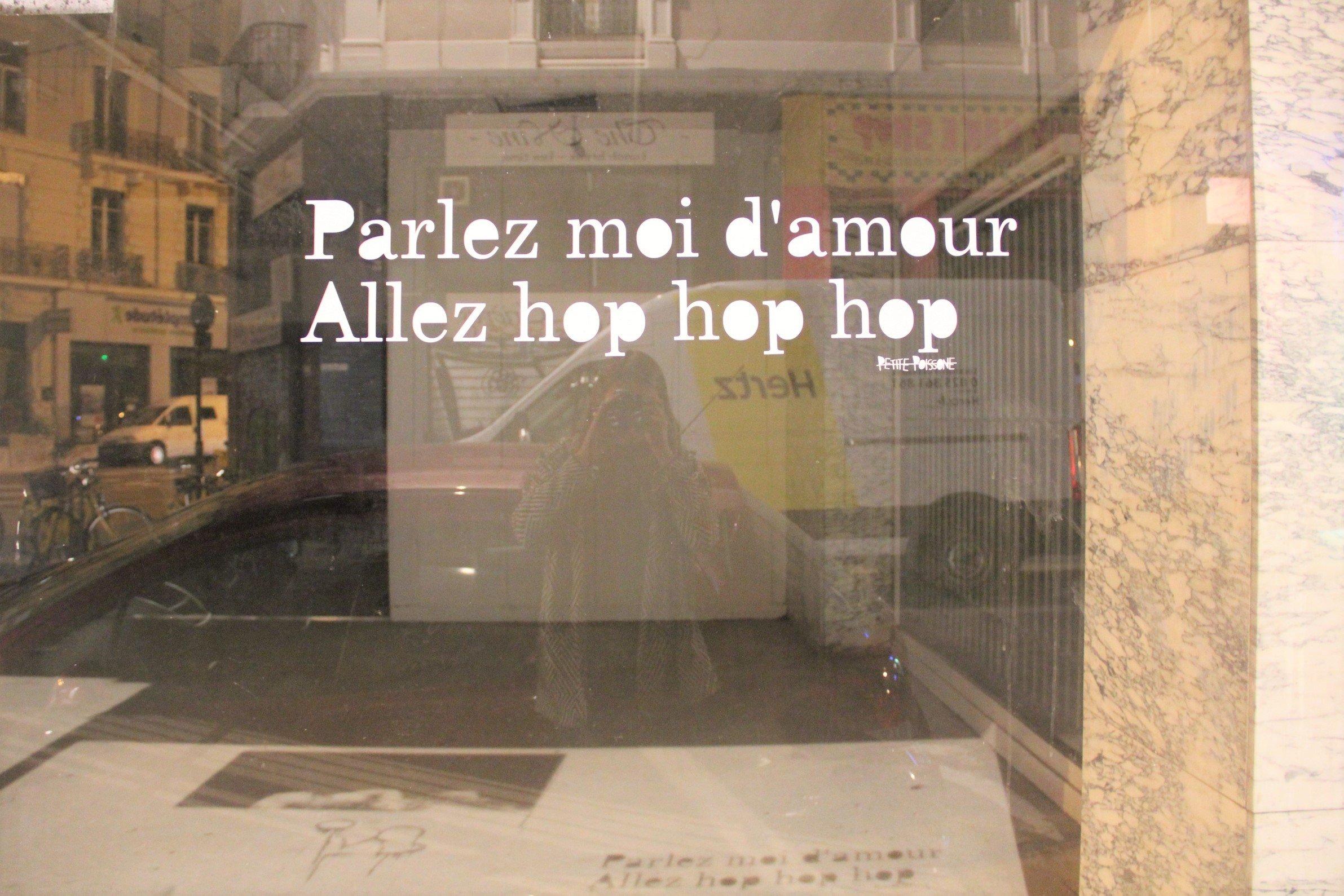 petite poissone - parlez moi d'amour hop hop hop GRENOBLE