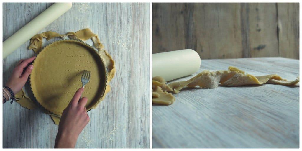 Fond de tarte tarte aux noix de Grenoble