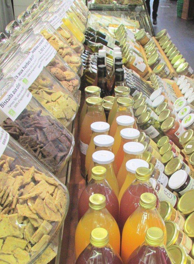Grésivaudan Halles Grenoble Fruits séchés