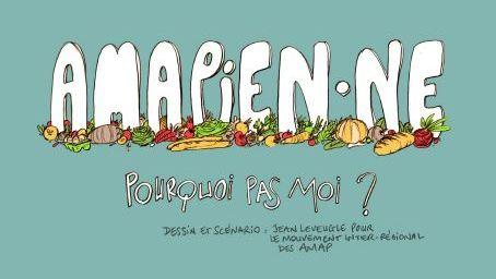 La BD des Amap pour les paniers de fruits et légumes des Mondaines à Grenoble