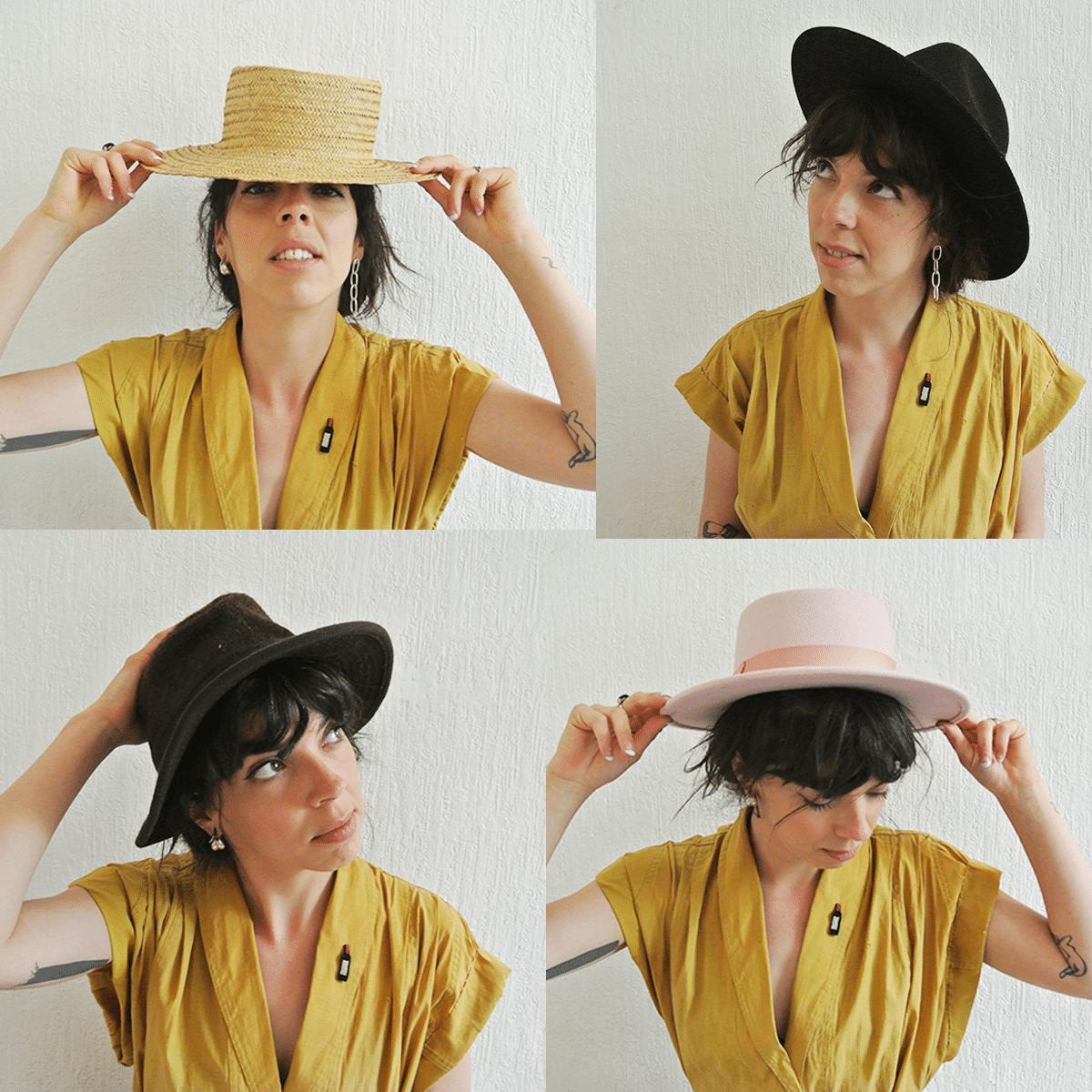 Portrait de Berthe par les Mondaines