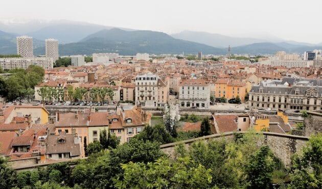 Vue Grenoble Bastille
