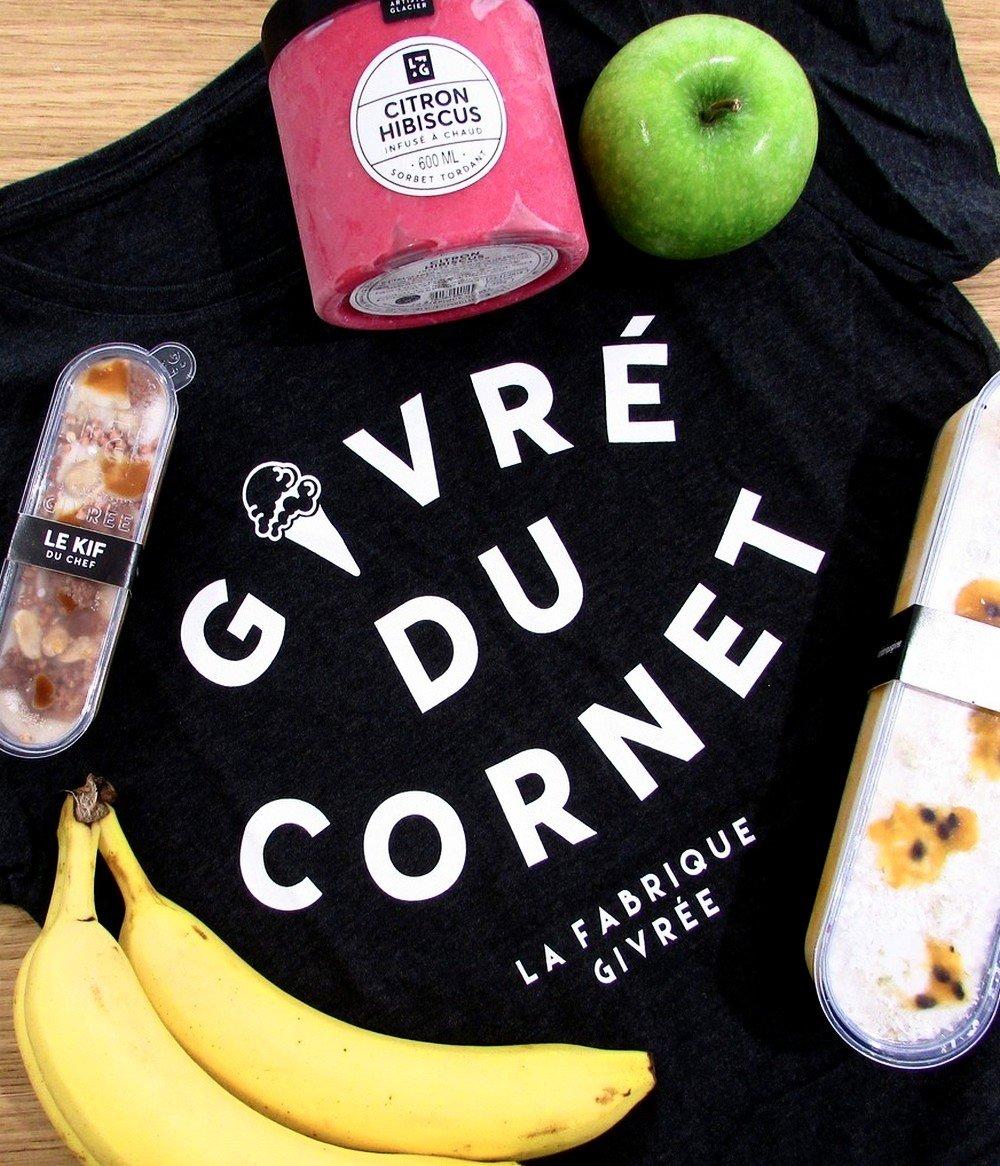 Glaces Grenoble Cornet