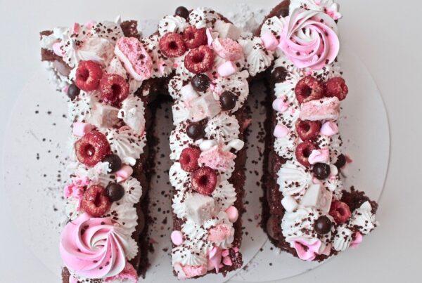 Letter cake Grenoble