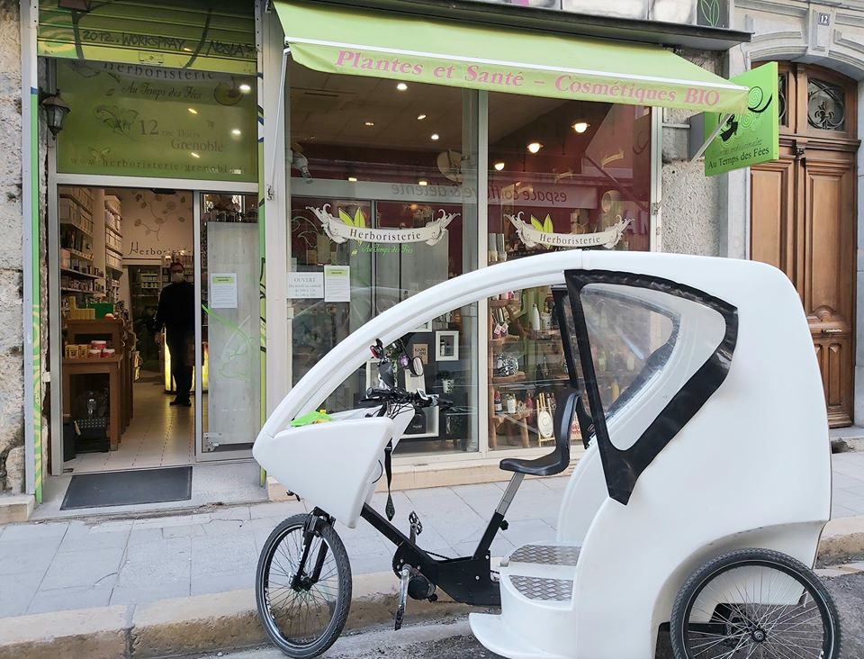 livraison courses à vélo