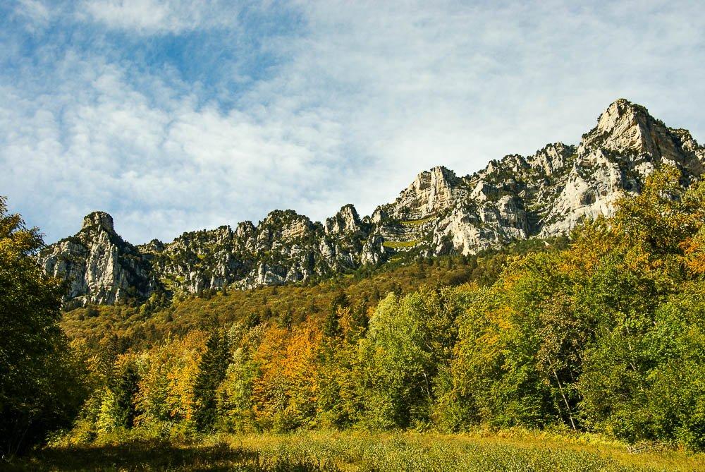 Randonnée d'automne Aulp du Seuil Chartreuse