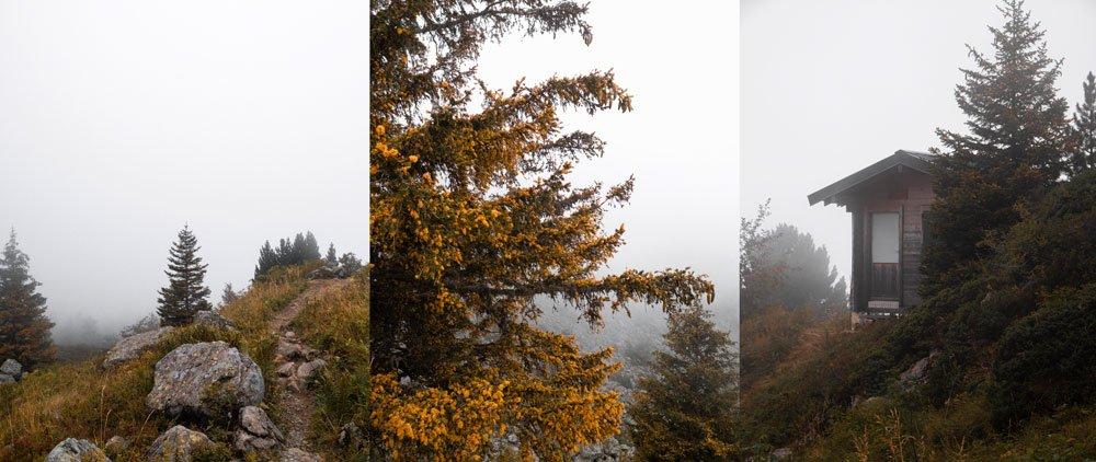 randonnées d'automne dans belledonne