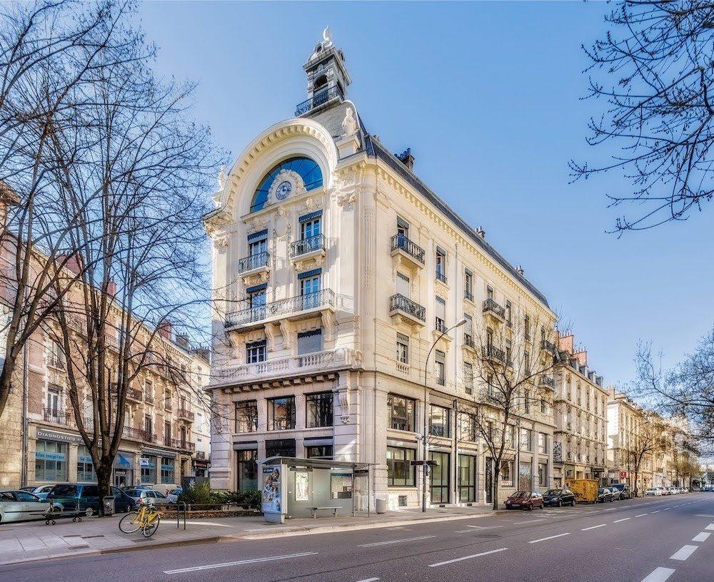 Ancienne imprimerie générale, angle avenue Felix Viallet et Rue Denfert Rochereau, S. Jourdan architecte, 1885
