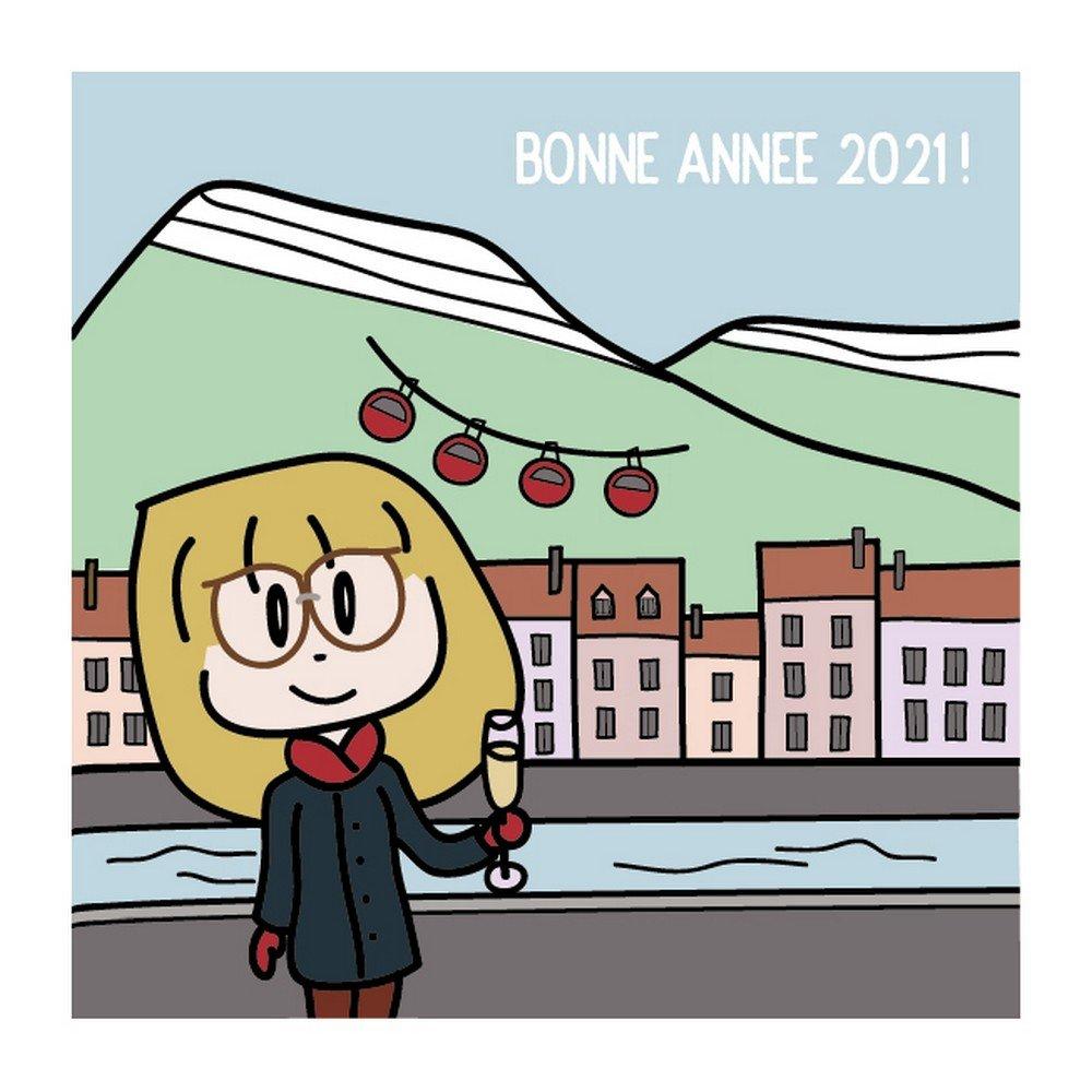 Illustration Graphisme Grenoble Mondaines