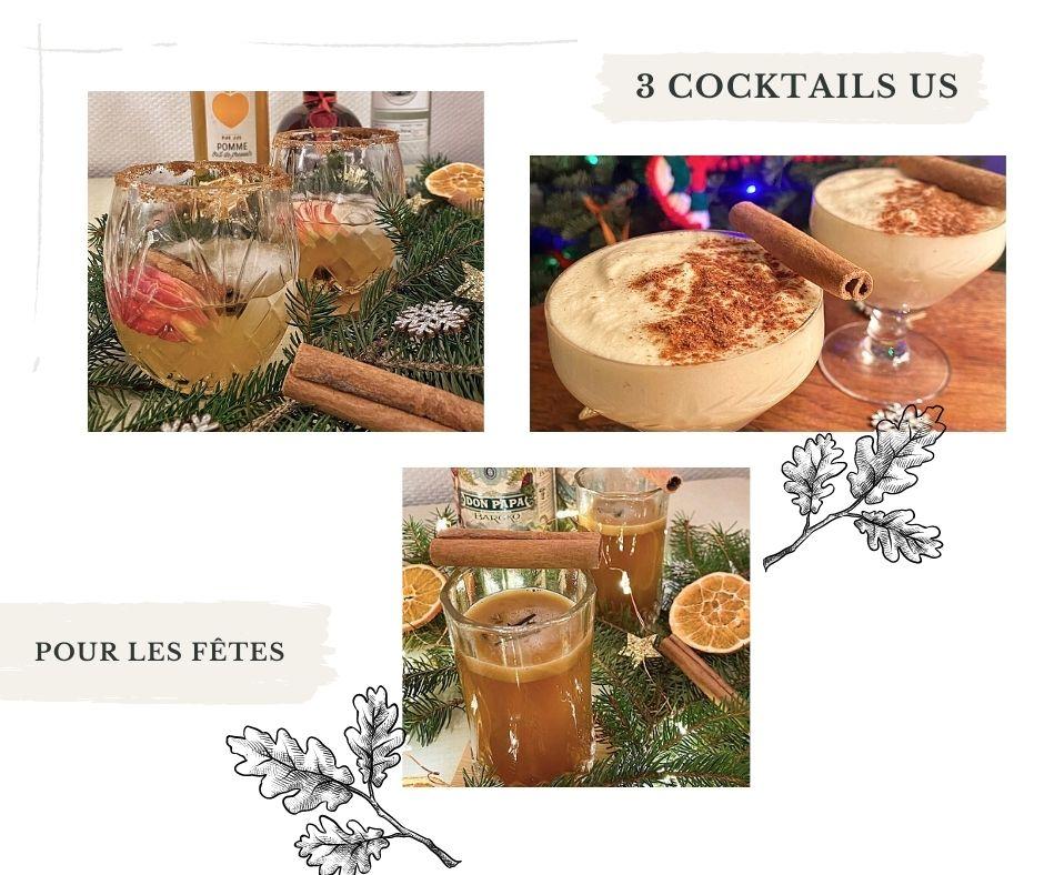 3 cocktails US