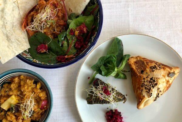Cuisine perse et végétarienne à emporter
